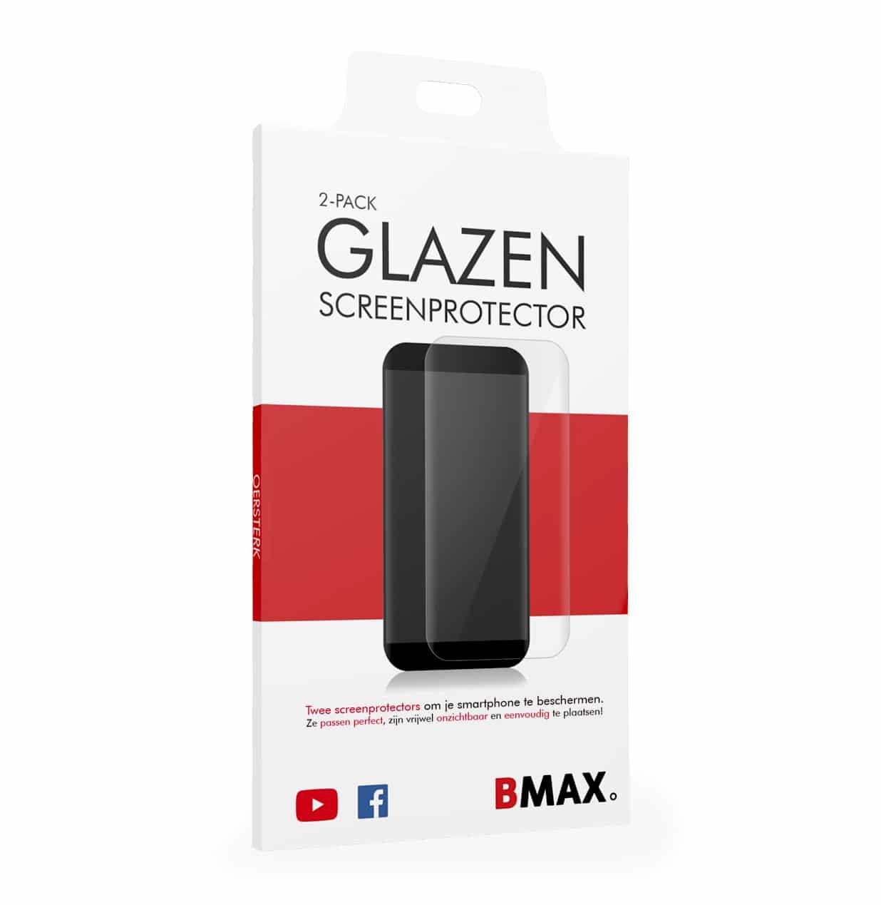 voorkant verpakking BMAX screenprotector